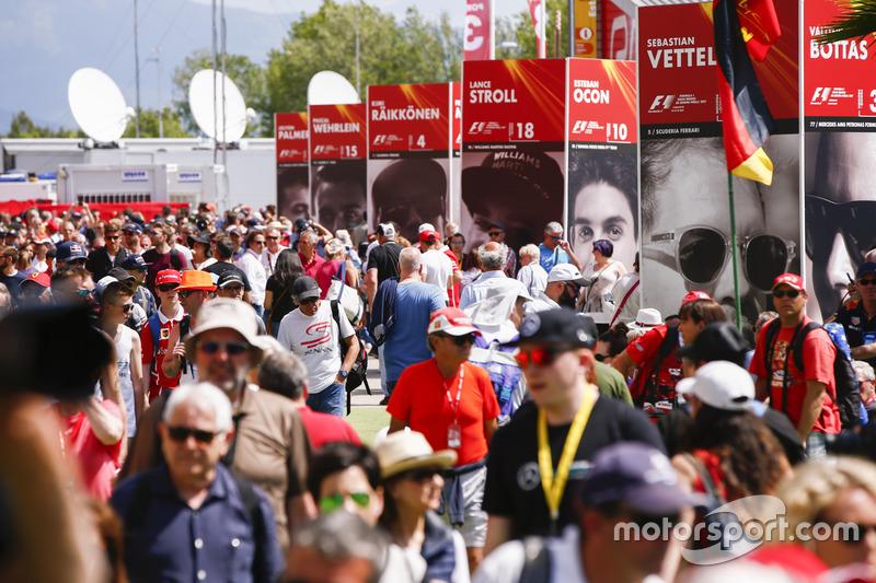 F1 Gustos de la afición