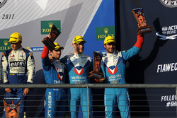 LMP2 podium: third place Julien Canal, Bruno Senna, Nicolas Prost, Vaillante Rebellion