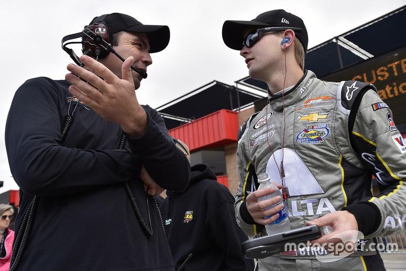 William Byron, JR Motorsports, Chevrolet, mit Dave Elenz