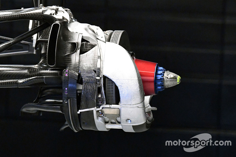 Williams FW40, disco freno anteriore