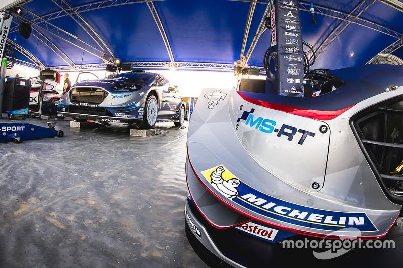 Деталь M-Sport Ford Fiesta WRC