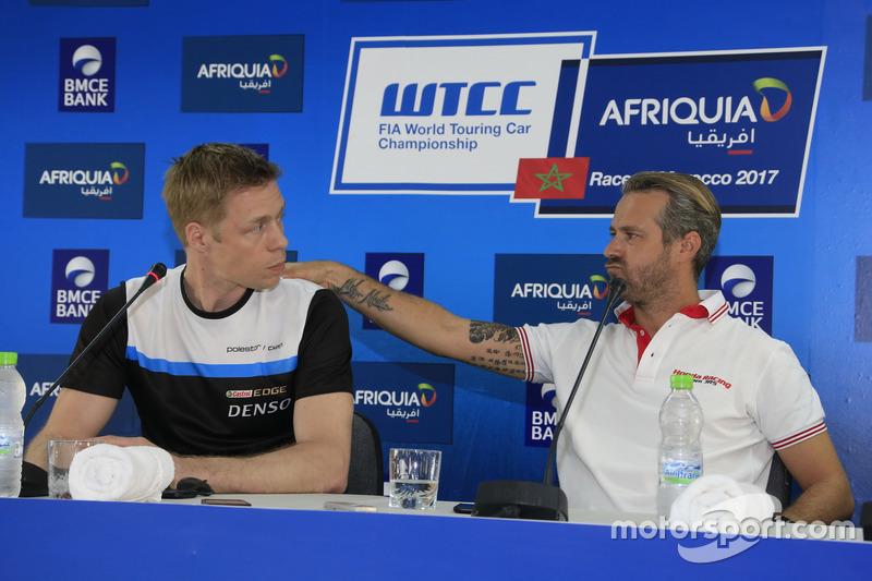 Thed Björk, Polestar Cyan Racing, Volvo S60 Polestar TC1, Tiago Monteiro, Honda Racing Team JAS, Hon