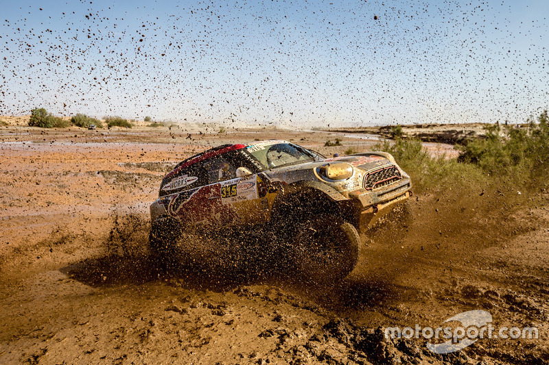 #315 X-Raid Team Mini: Bryce Menzies, Pete Mortensen