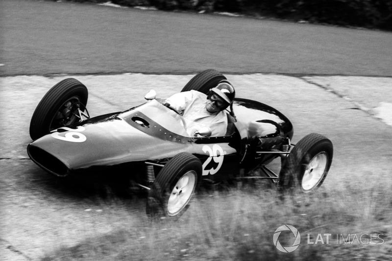 Tony Shelly: participação única na F1 no GP da Grã-Bretanha em Aintree, em 1962.