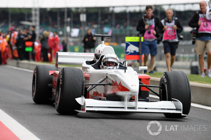Johnny Herbert, F1 Experiences coche de 2 plazas