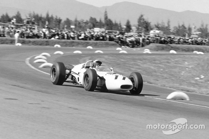 Richie Ginther (Honda) - GP Mexique 1965