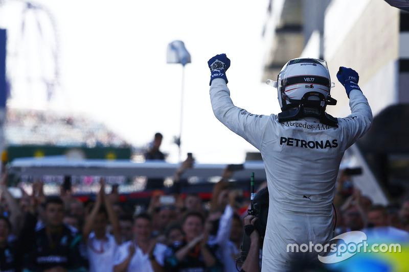 4º GP de Rusia 2017 - Victoria para Valtteri Bottas, Mercedes