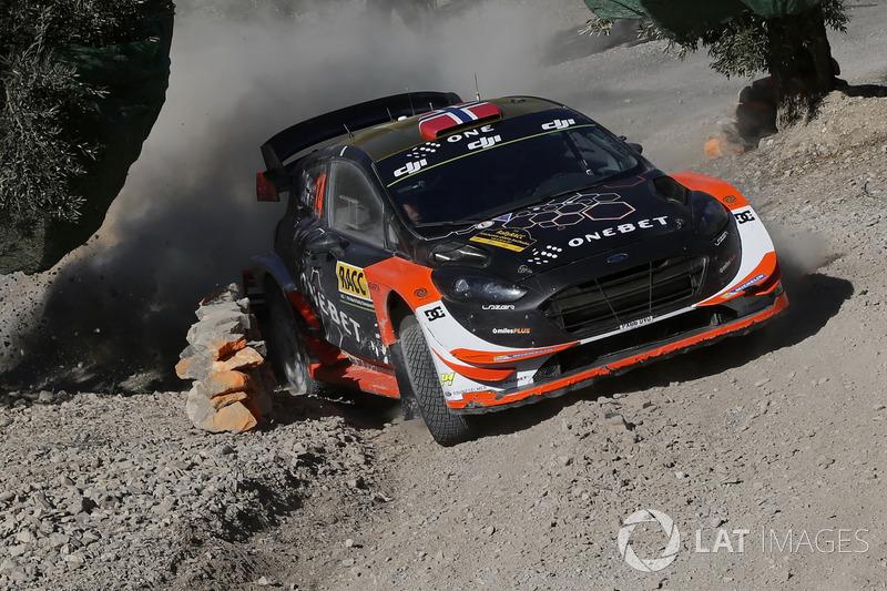 Мадс Остберг и Торстейн Эриксен, Ford Fiesta WRC