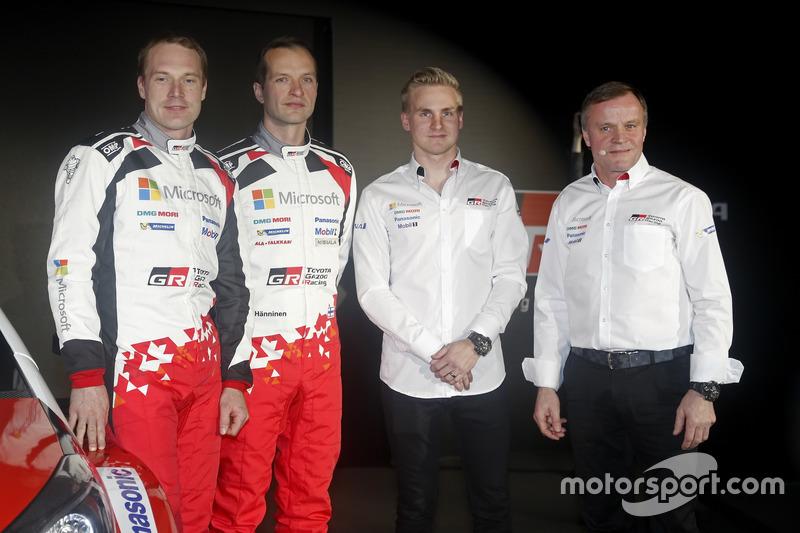 Jari-Matti Latvala; Juho Hänninen; Esapekka Lappi; Tommi Mäkkinen; Toyota Racing, Toyota Yaris WRC 2017