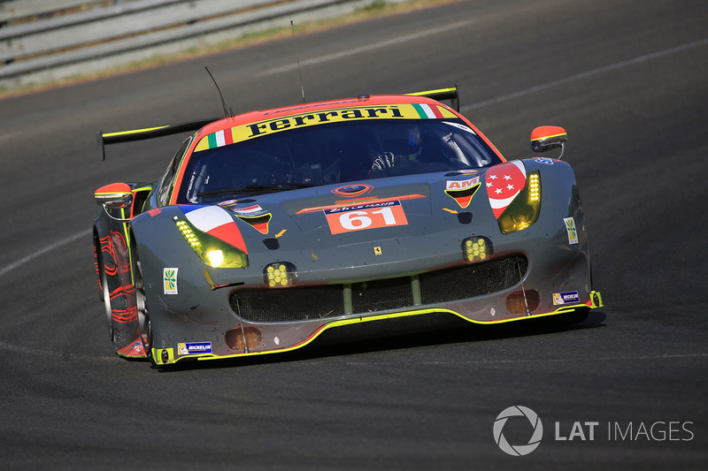 11. GTE-Am: #61 Clearwater Racing, Ferrari 488 GTE
