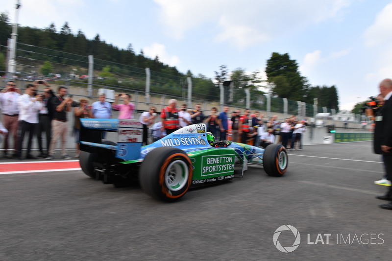Mick Schumacher, Benetton B194