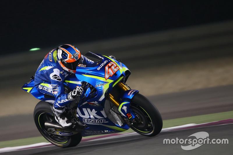 Алекс Ринс, Suzuki