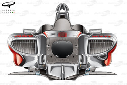 McLaren MP4-24 2009 chassis front view