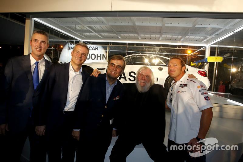 Ed Bennett, Director Ejecutivo INSA; Jens Marquardt, BMW Motorsport Director; Ludwig Willisch, BMW North America Chief; John Baldessari; Bill Auberlen