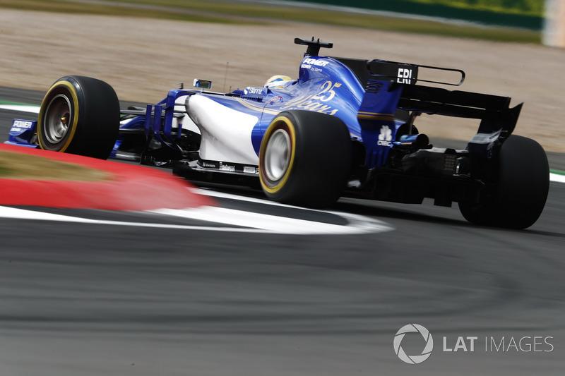 18. Маркус Ерікссон, Sauber C36