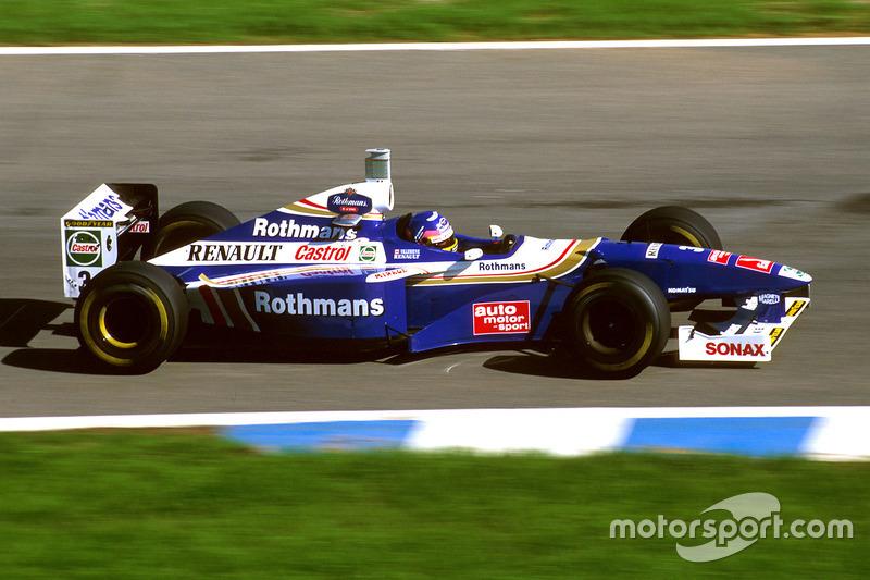 #3 : Jacques Villeneuve, Williams FW19