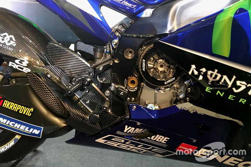 2017 Yamaha YZR-M1 detail