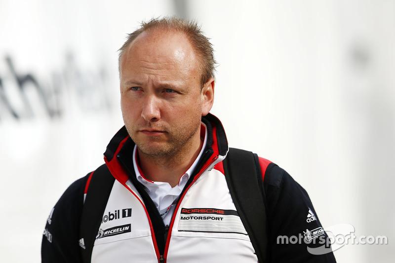 Marco Ujhasi, hoofd van Porsche GT racing