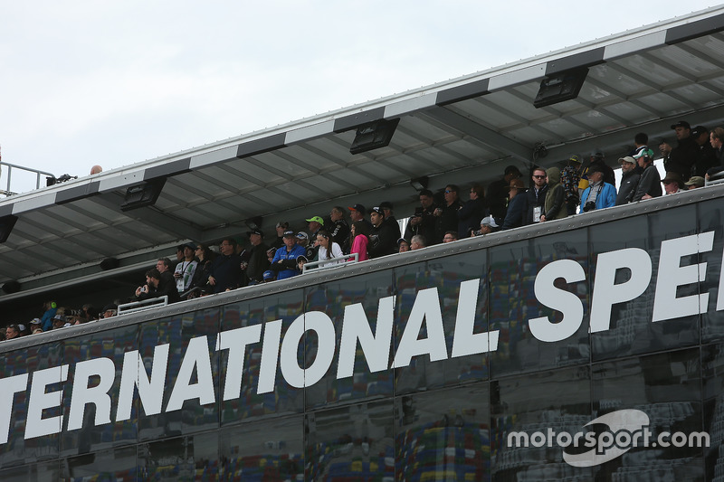 Aficionados en las 500 Daytona