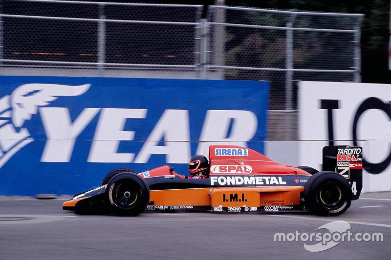 Olivier Grouillard, Osella FA1M Ford