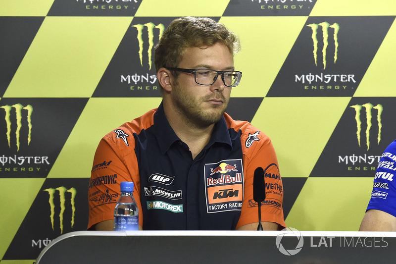 Себастян Ріссе, технічний директор KTM
