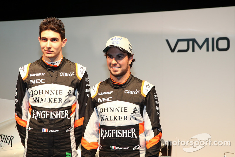 Esteban Ocon und Sergio Perez