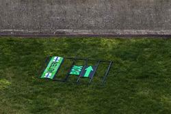 Boxentafel für Valtteri Bottas, Mercedes AMG F1