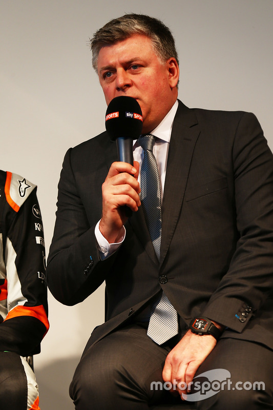 Otmar Szafnauer, Betriebsleiter von Sahara Force India F1 Team