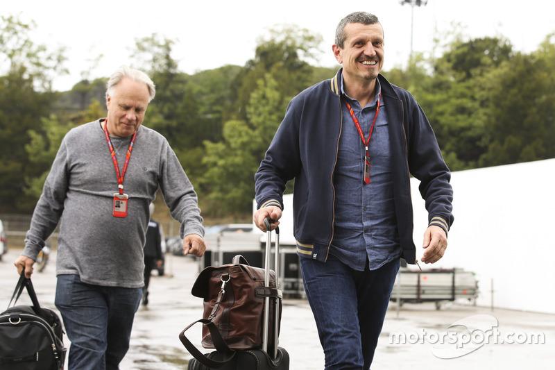 Guenther Steiner, Team Principal, Haas F1 Team, Gene Haas, Team Owner, Haas F1 Team