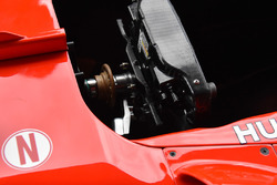 Ferrari SF70H steering wheel detail