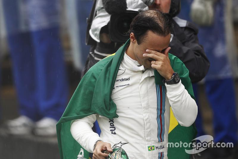 Felipe Massa auf dem Rückweg zur Boxengasse