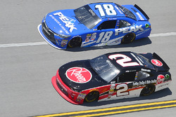 Daniel Suarez, Joe Gibbs Racing, Toyota; Ben Kennedy, Richard Childress Racing, Chevrolet