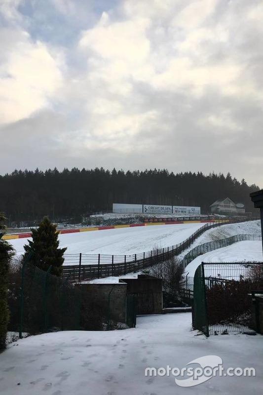 Spa-Francorchamps sous la neige