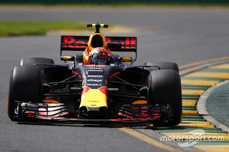 max verstappen red bull racing rb13 at australian gp. Black Bedroom Furniture Sets. Home Design Ideas