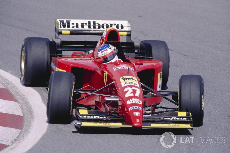 Jean Alesi - 1 galibiyet