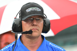 Todd Phillips, chief mechanic, Dale Coyne Racing