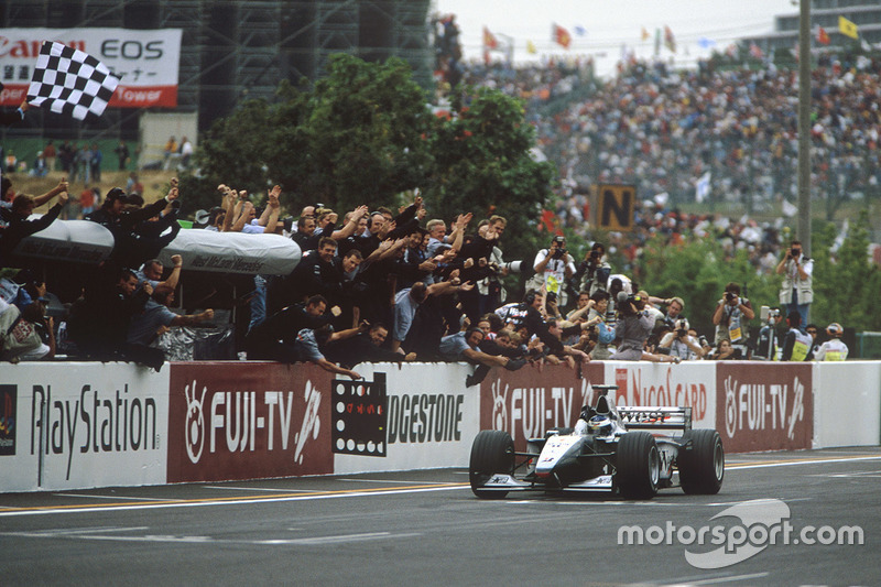 1999: De dubbel van Mika Hakkinen