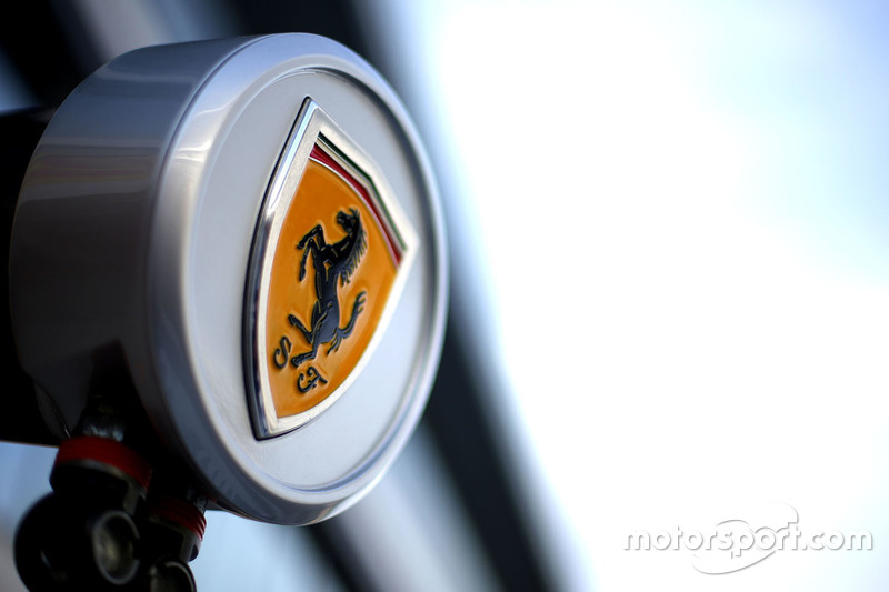 Detailansicht des Scuderia Ferrari SF16-H