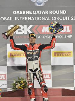 Подіум: переможець гонки Чаз Девіс, Ducati Team