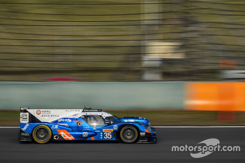 6. LMP2: #35 Baxi DC Racing, Alpine A460 Nissan: David Cheng, Ho-Pin Tung, Paul-Loup Chatin