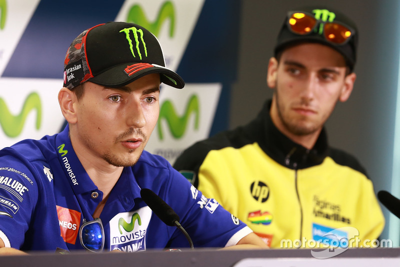 Jorge Lorenzo, Yamaha Factory Racing; Alex Rins, Paginas Amarillas HP 40