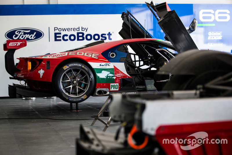 Ford Chip Ganassi Racing Team UK, Ford GT
