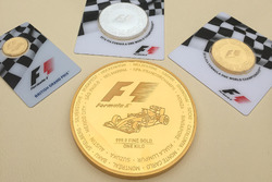 Moneda de oro de Fórmula 1