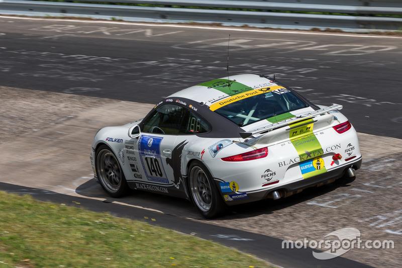 #140 Black Falcon Team TMD Friction, Porsche 991: Aurel Schoeller, Andre Kuhn, Philip, Miquel Boquoi Toril