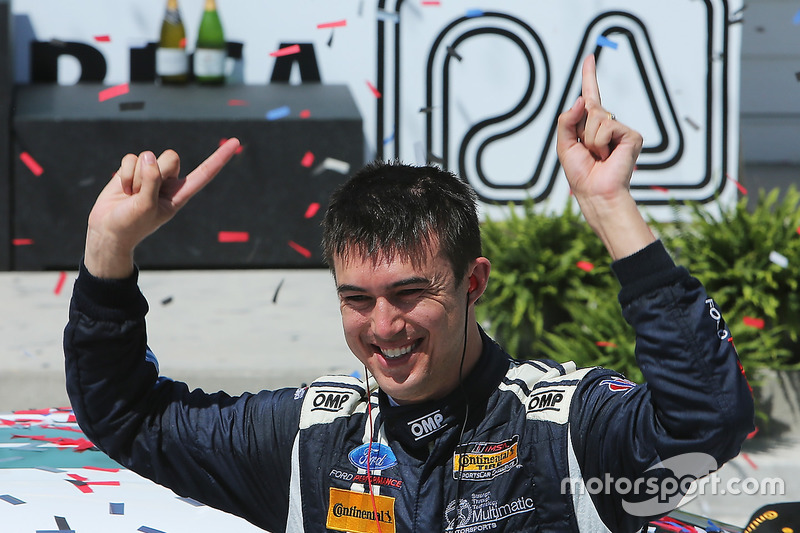 Race winner Billy Johnson, Multimatic Motorsports