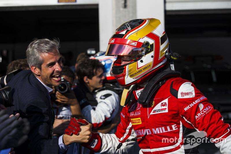 Winner Charles Leclerc, ART Grand Prix