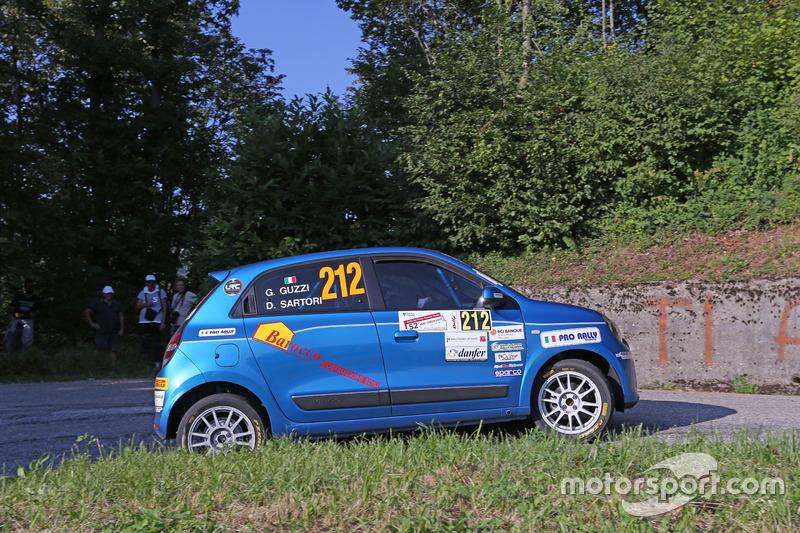 Deborah Sartori, Giancarla Guzzi Renault Twingo R Trofeo R1 #212