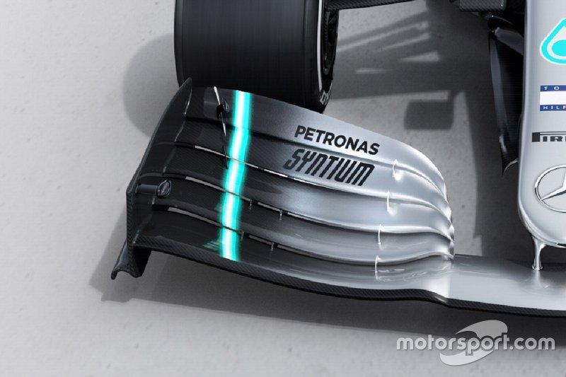 Автомобиль Mercedes AMG F1 W10