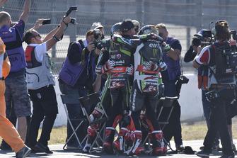 Jonathan Rea, Kawasaki Racing fête son quatrième titre mondial