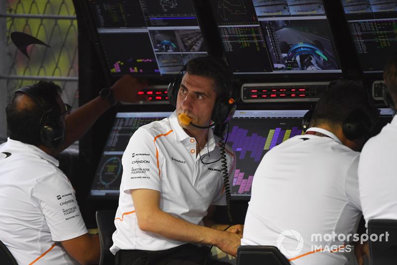 Andrea Stella, Ingeniero de McLaren